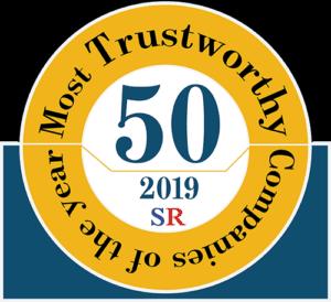 50 Most Trustworthy small
